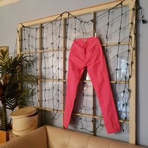 Real Quick - Pink Stretch Jeans